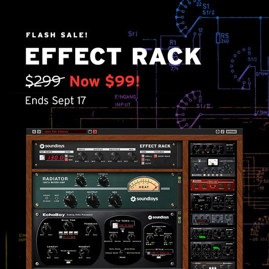 Effect Rack Flash Sale
