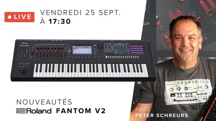 Live Facebook Roland Fantom