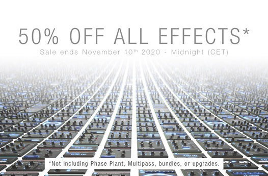 Phaseplant Sale October 20