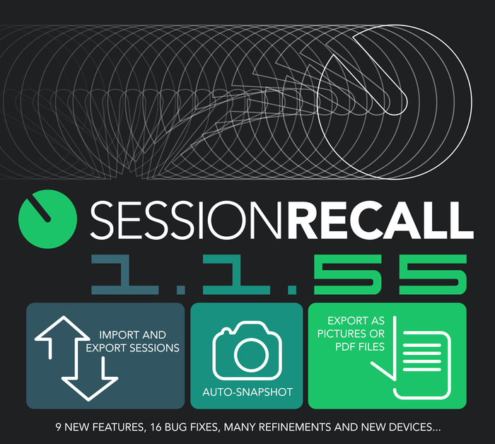 Session Recall update