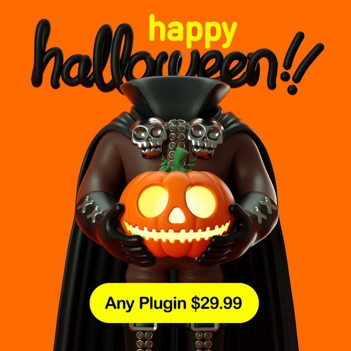 Plugin Alliance Halloween Sale
