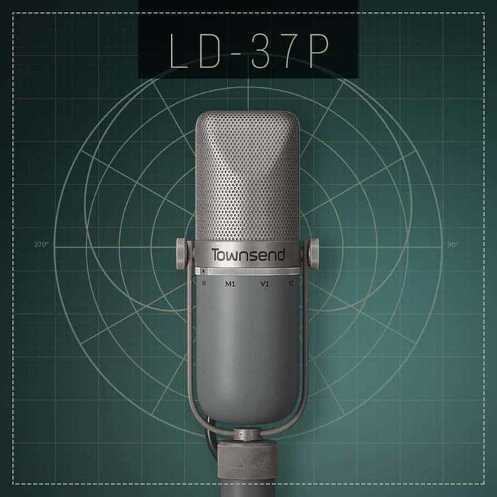 Townsend Labs Sphere L22 : TL-Sphere-1dot5-MicPanel-LD-37P