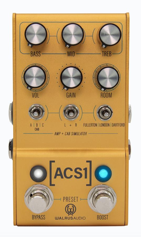 MAKO ACS1 (Amp + Cabinet Simulator)