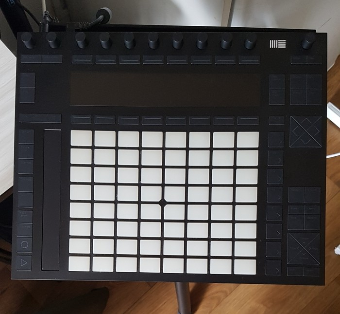 Ableton Push 2 petitbaron images