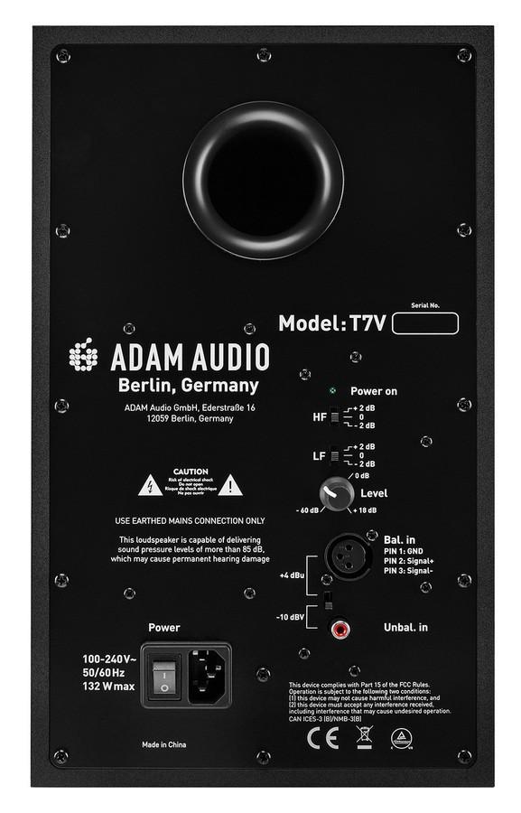 adam audio t7v Rear