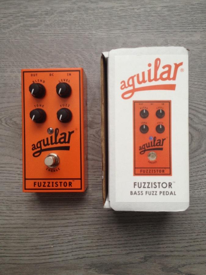 Amazon.com: Customer reviews: Aguilar Fuzzistor Bass Fuzz ...