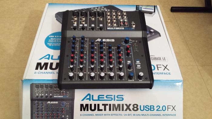 alesis multimix 8 usb driver free download