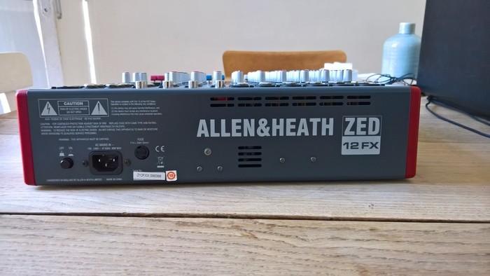 Allen & Heath ZED-12FX (14590)