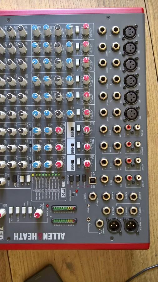 Allen & Heath ZED-12FX (79052)