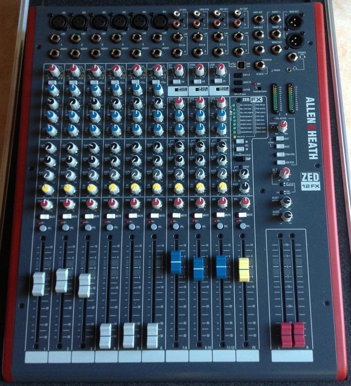 Allen Heath Zed 12fx : allen heath zed 12fx image 648942 audiofanzine ~ Hamham.info Haus und Dekorationen