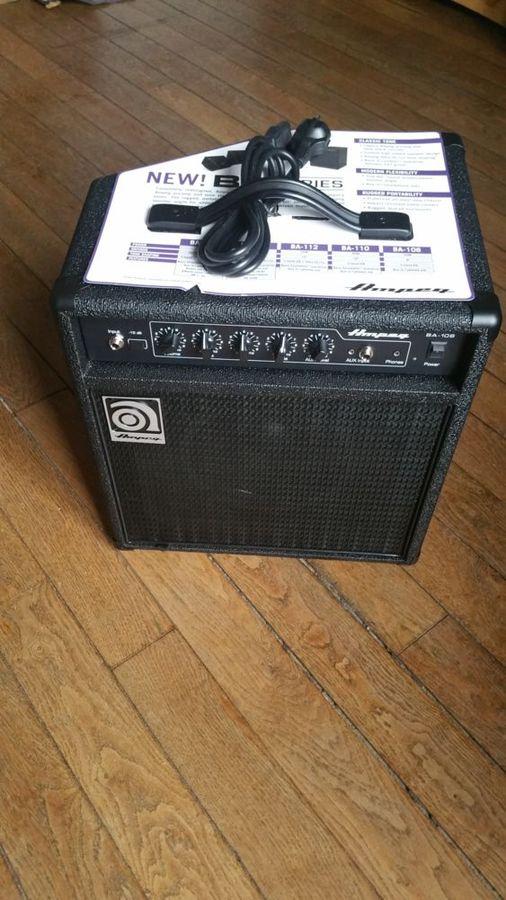 ampli basse ampeg ba 108 v2 bourgogne audiofanzine. Black Bedroom Furniture Sets. Home Design Ideas
