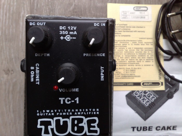 Amt Tube Cake Tc  Review