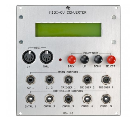Analogue Systems RS-140 MIDI-CV CONVERTER Synthy craft images