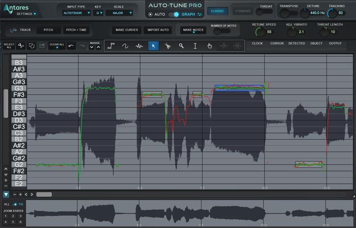Auto Tune Pro Graphical Mode