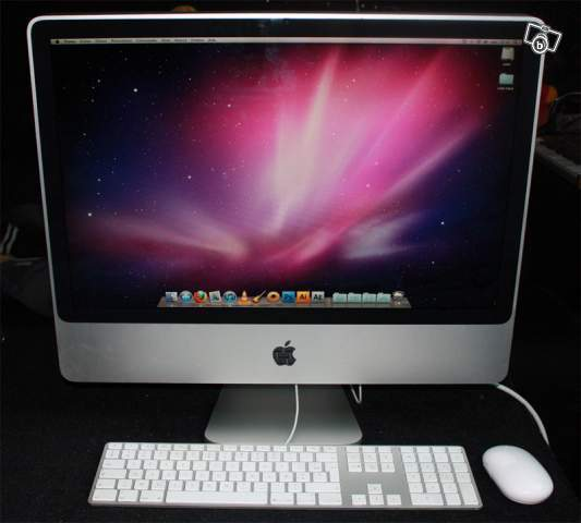 apple desktop imac  intel core duo ghz go ram medias pictures aplaym