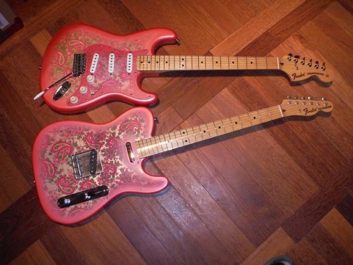 fender stratocaster pink 2110326