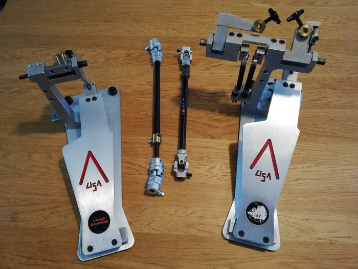 Axis X-L2 Longboard Double Pedal
