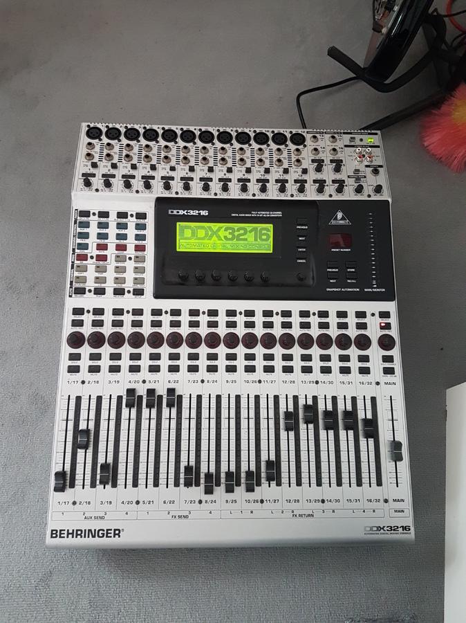 Photo behringer ddx3216 behringer ddx3216 68625 1532409 audiofanzine - Console numerique behringer ...