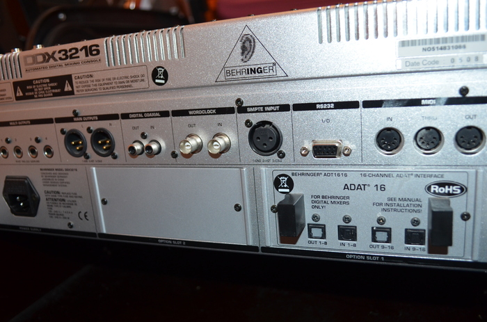 Photo behringer ddx3216 behringer ddx3216 46815 526356 audiofanzine - Console numerique behringer ...