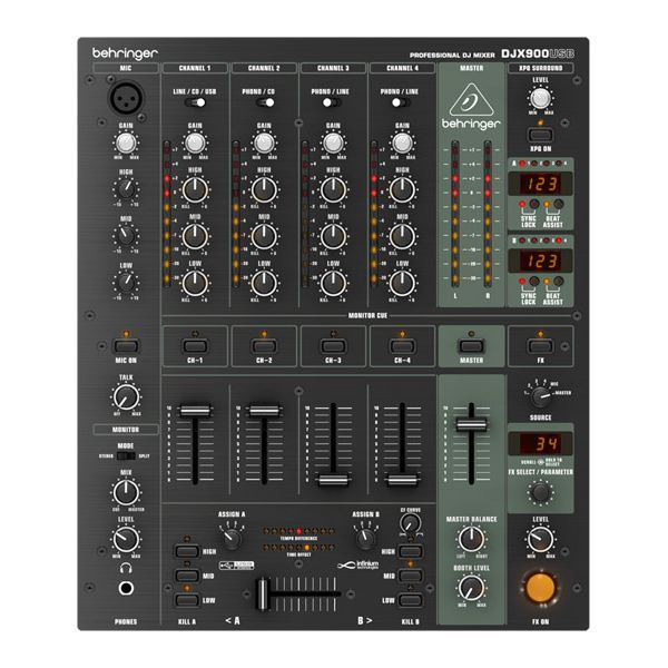 Photo behringer djx900usb behringer table de mixage behringer 1045647 audiofanzine - Table de mixage behringer ...