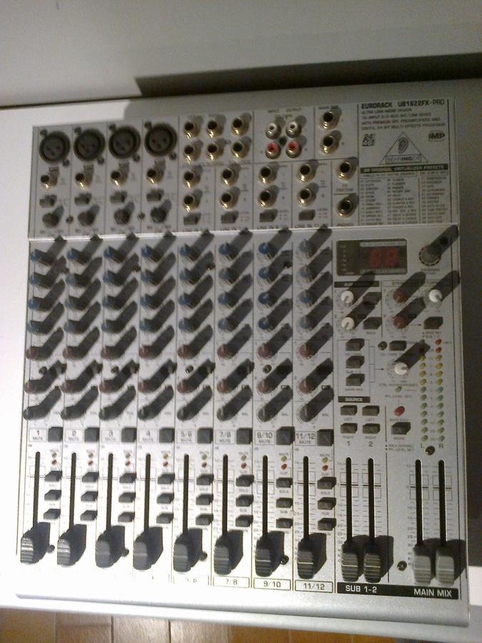 Behringer Eurorack Ub1622fx Pro Image 948108 Audiofanzine