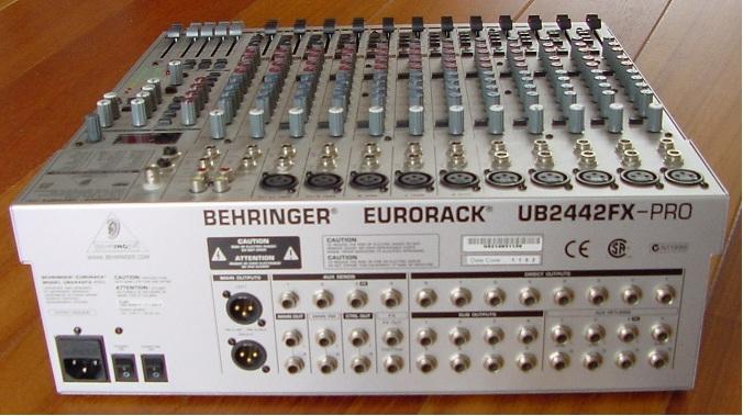 Behringer Europack UB2442FX-Pro Manuel Du ... - Manuals Brain