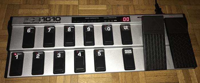 Behringer FCB1010 Midi Foot Controller (23305)