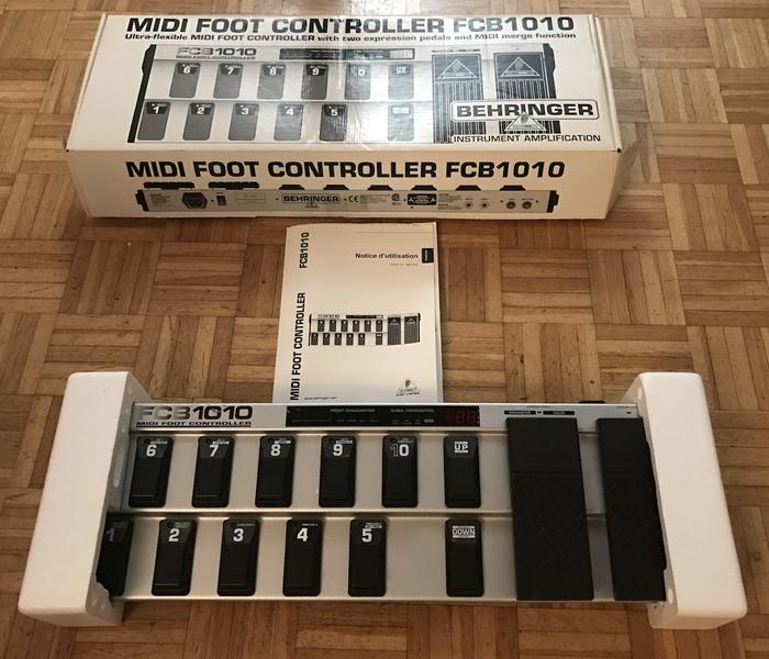 Behringer FCB1010 Midi Foot Controller (68446)
