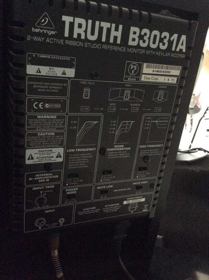 Behringer Truth B3031A (81548)