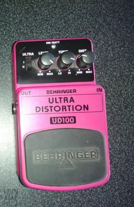Behringer Ultra Distortion UD100 dadav images
