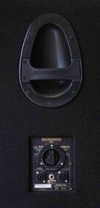 Behringer Ultrabass BB810 Aircoutix images