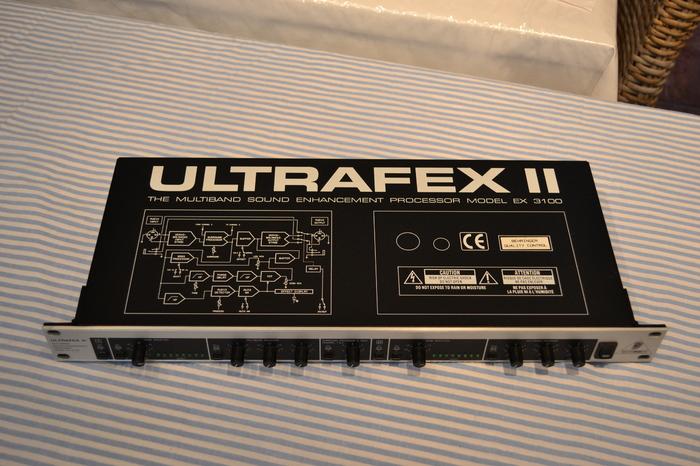 Behringer Ultrafex Ii ex3100 manual