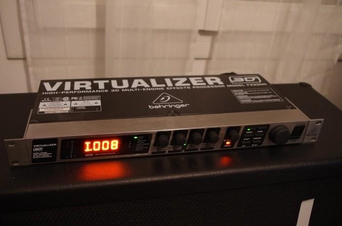 Behringer Virtualizer 3D FX2000 (12582)