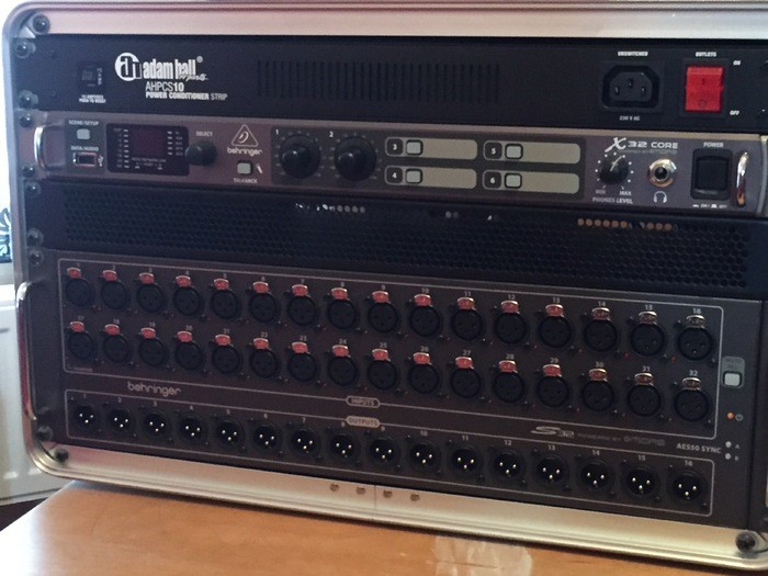 Photo behringer x32 core behringer x32 core 3720 2006926 audiofanzine - Console numerique behringer ...