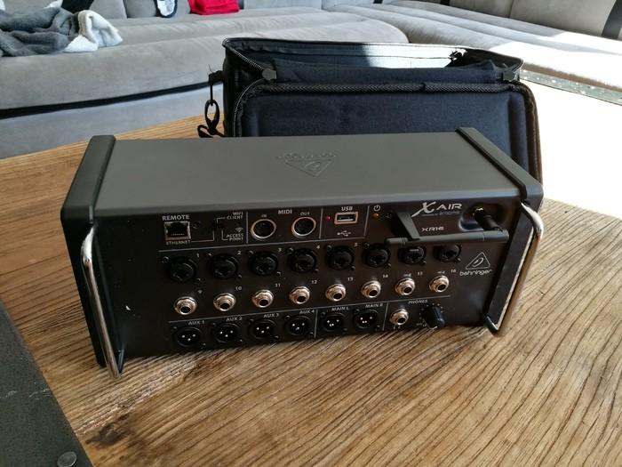 Photo behringer xr16 img 20171107 125837 2023382 audiofanzine - Console numerique behringer ...
