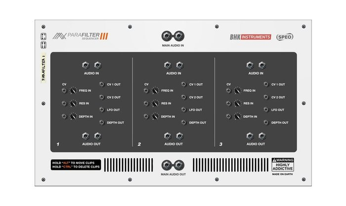 BHK Samples Parafilter III Sequencer (32123)