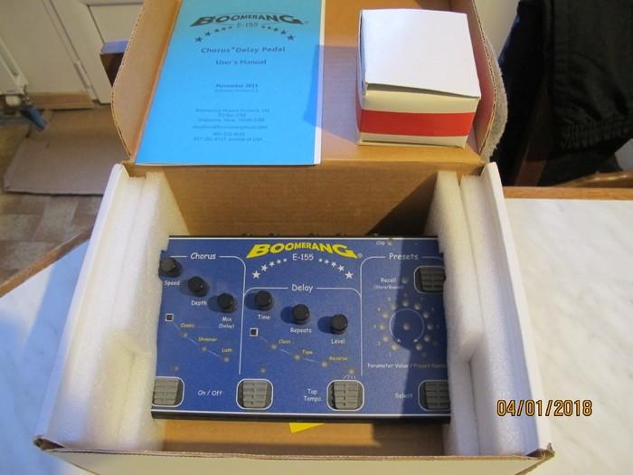Boomerang E-155 Chorus & Delay (57071)