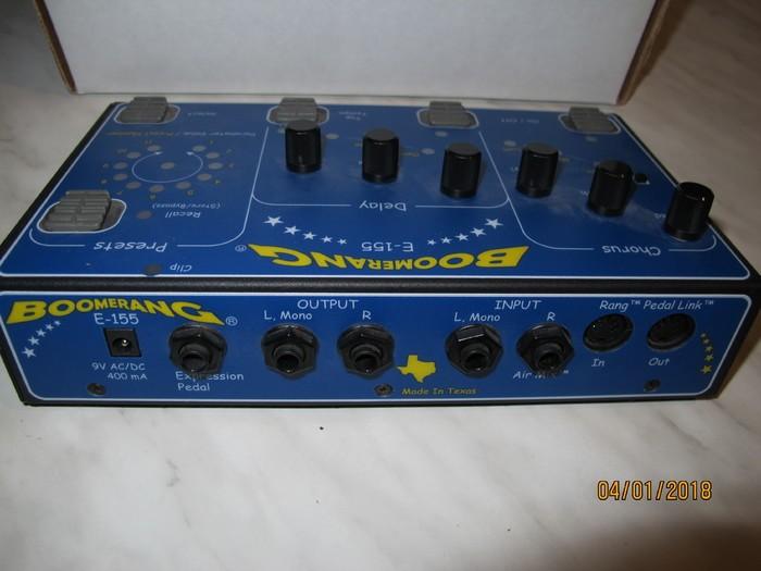 Boomerang E-155 Chorus & Delay (67589)