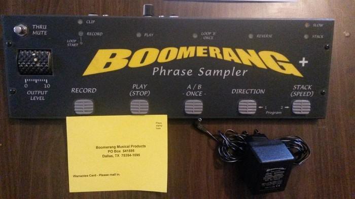 Boomerang Phrase sampler V2+ (77226)