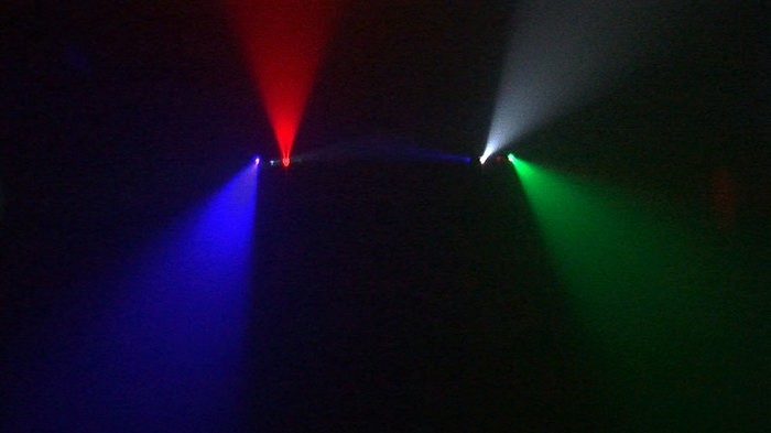 BoomToneDJ Quattro Scan LED (18180)