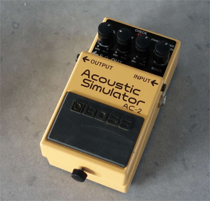 Boss AC-2 Acoustic Simulator absolutgreg images