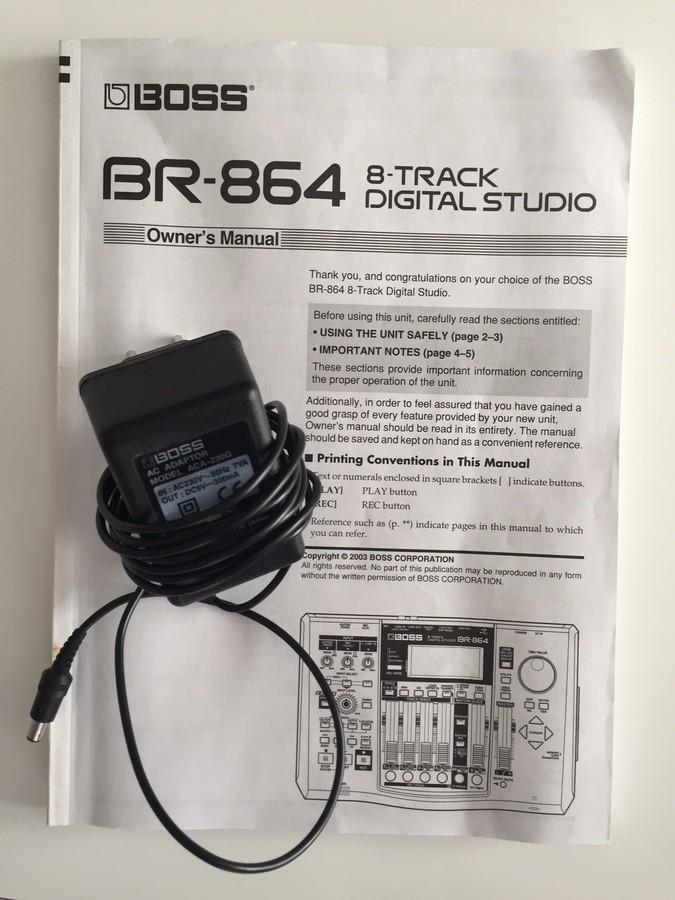 Boss BR-864 8-Track Digital Studio (7345)