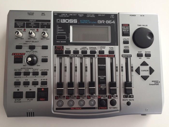 Boss BR-864 8-Track Digital Studio (50176)