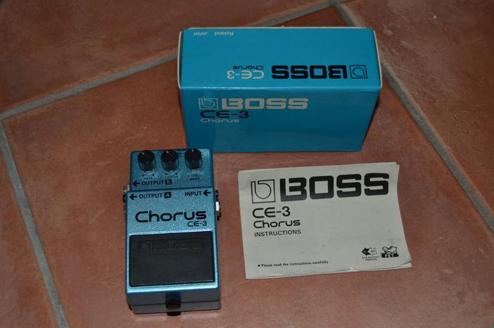 Boss CE-3 Chorus (Japan) LeoPMartin images