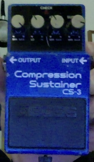 Boss CS-3 Compression Sustainer (70250)