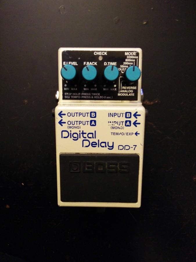 Boss DD-7 Digital Delay (94447)