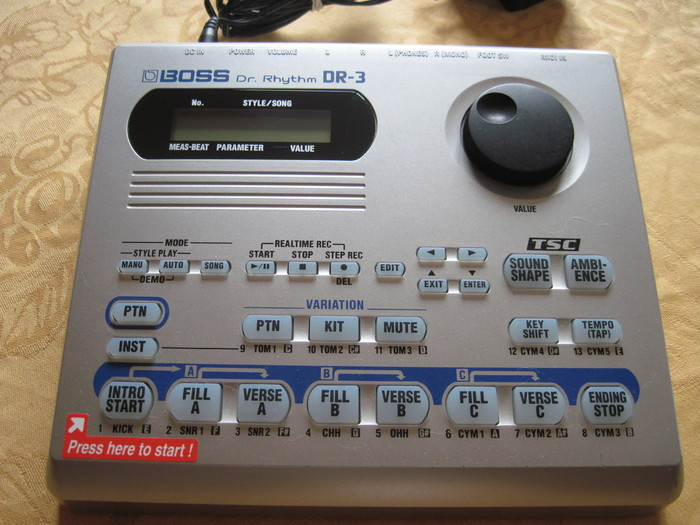boss dr 3 dr rhythm image 1169221 audiofanzine. Black Bedroom Furniture Sets. Home Design Ideas