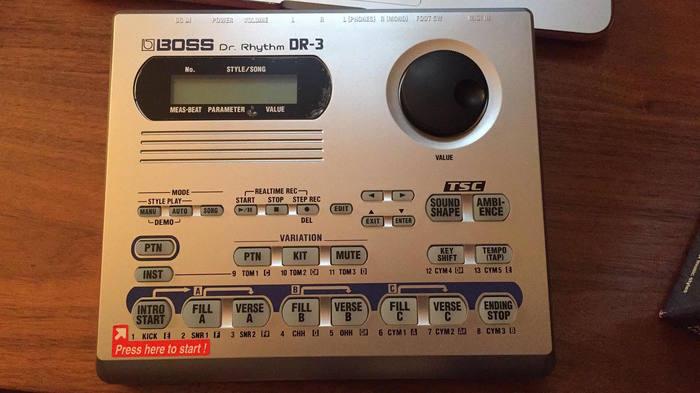 Boss DR-3 Dr. Rhythm (39443)