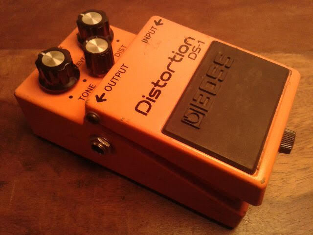 Boss DS-1 Distortion art of sound images