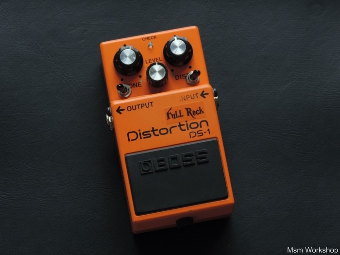 Boss DS-1 Distortion - Full Rock - Modded by MSM Workshop (57258)